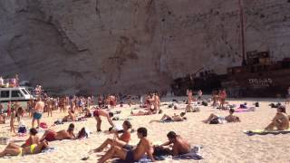 plaja Navagio Zakynthos august 2014
