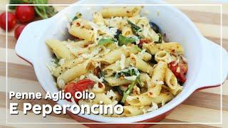 Penne Aglio Olio E Peperoncino - Italian Pasta Recipe - Today's Special With Shantanu