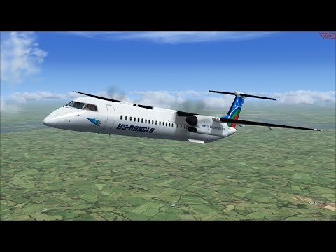 FSX: How To Fly The Dash 8 Q400 + Link