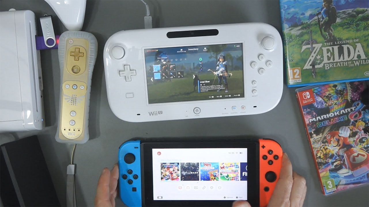 Wii Vs Wii U