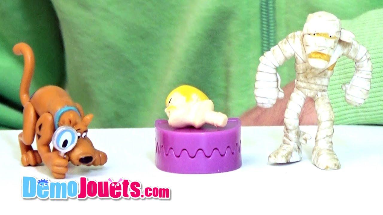 Jouet scooby doo pack de 2 figurines lansay d mo - Jouets scooby doo ...