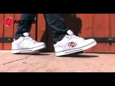 33d94107 Как кататься на роликах Heelys - YouTube