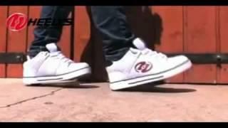 Как кататься на роликах Heelys