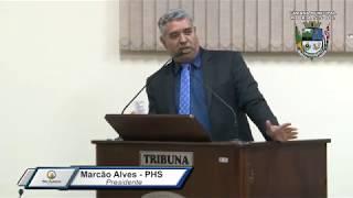 28ª Sessão Ordinária - Presidente Marcão Alves