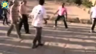 بالفيديو.. منتخب مصر في معبد الكرنك يقولوا لاللإرهاب