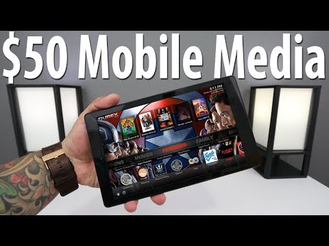 Mobile Media with Fire Tablet and Kodi