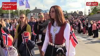 17  mai. barnetoget Ålgård
