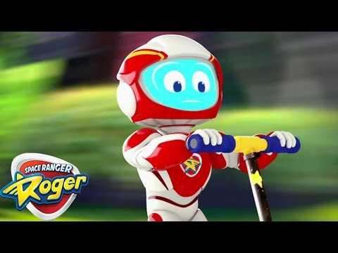 Space Ranger Roger  Roger Sticks the Landing  HD Full Episode 3  Cartoons For Kids