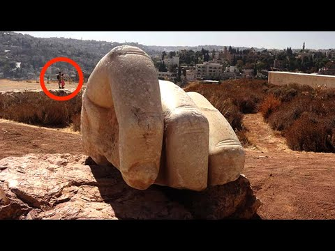 Die Kolossale Hand Des Herkules - Wo ist der Rest?