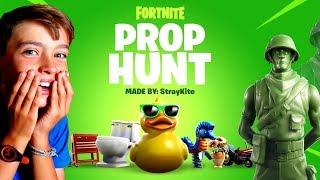 PROP HUNT FORTNITE - TOY STORY 4