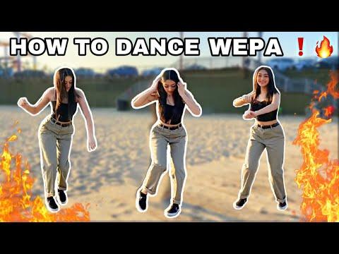 HOW TO DANCE WEPA! 🔥 basics + tricks!! pt.2