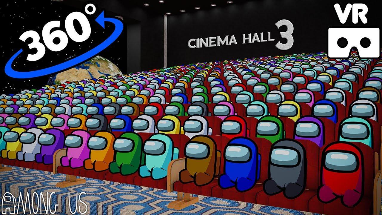 AMONG US 360° - CINEMA HALL 3 VR/360° ANIMATION   VR/360° Experience