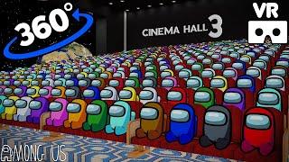 AMONG US 360° - CINEMA HALL 3 VR/360° ANIMATION | VR/360° Experience