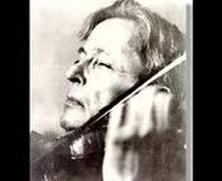 George Enescu plays Corelli Sonata