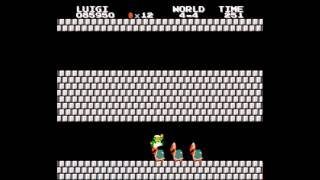 SMB2J - The Lost Levels - Any % Luigi in 8:25.36 (World Record)