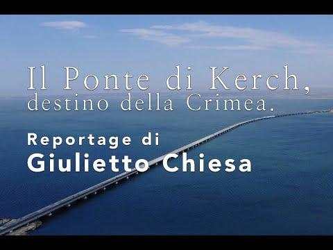 Il Ponte di Kerch, destino della Crimea - Reportage di Giulietto Chiesa