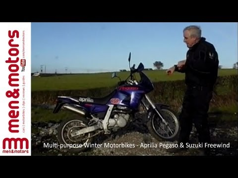 Multi-purpose Winter Motorbikes - Aprilia Pegaso & Suzuki Freewind