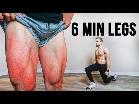 The PERFECT Home LEG Workout (Only 6 MIN)