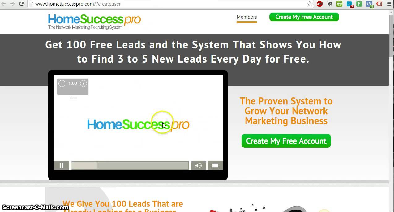 How To Get 100 Free MLM Leads This Month! 3 - 5 hot leads everyday ...