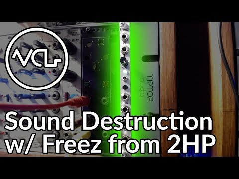 Sound Destruction with Freez from 2HP