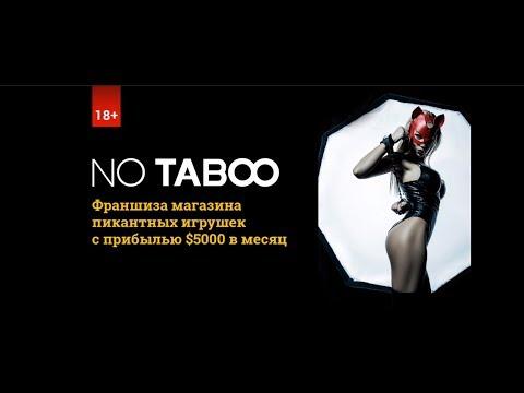 No Taboo — интимная франшиза. Узнайте, как заработать на секс шопе. Вебинар с Анжелой Запорожец