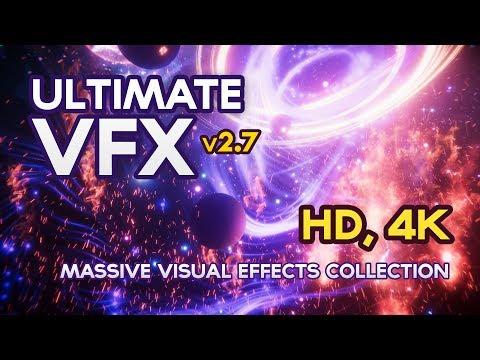 [UNITY3D ASSET] - Ultimate VFX (v2.7) - 4k, 60fps