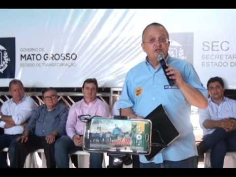 O GOVERNADOR PEDRO TAQUES ESTEVE NO 9 FÓRUM POLÍTICO DE PORTO ALEGRE DO NORTE
