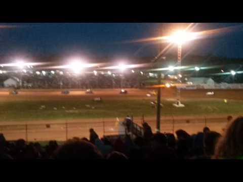MSCS Sprint Car C Main Part 2/2 Lincoln Park Speedway