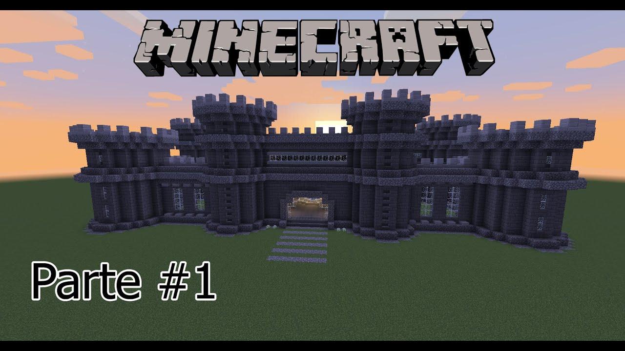Tutorial Minecraft - Como Fazer Um Castelo Legal Parte