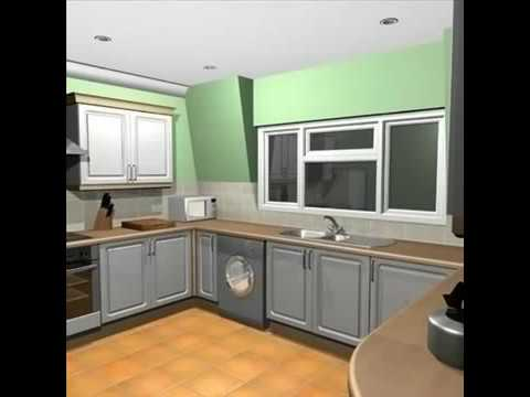 3d Model Of A Kitchen Review Youtube