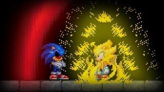 Sonic.EXE Blood Scream (Good Ending) | Super Sonic VS Sonic.EXE + Post-Credits Scene
