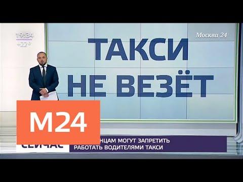 Иностранцам могут запретить работать водителями такси - Москва 24