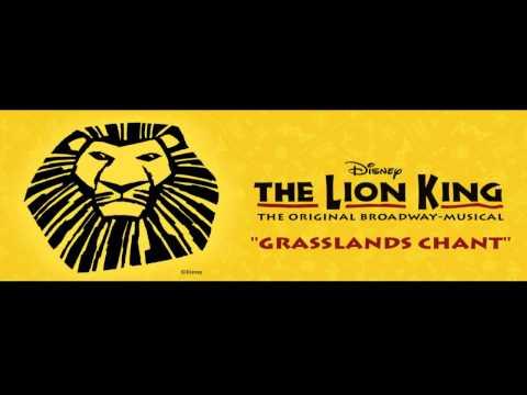 Grasslands Chant instrumental karaoke Lion King