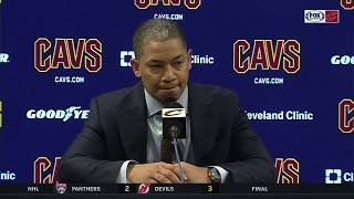 Ty Lue: Cleveland's culture not defined by wins and losses | CAVS-PACERS POSTGAME