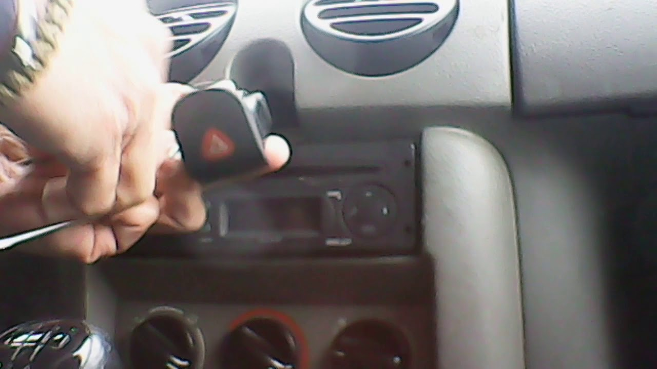 Bouton de warning Renault Kangoo