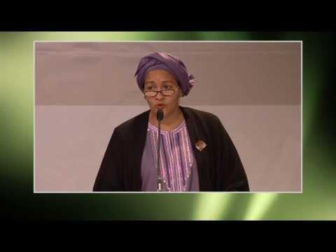 Ms. Amina J. Mohammed, UN Secretary-General's Special Adviser on Post-2015 Development Planning