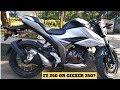 2019 Suzuki Gixxer 250 Naked Sports Ride Review Brake Performance