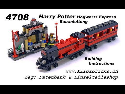 4708 Lego Harry Potter Hogwarts Express Bauanleitung Youtube
