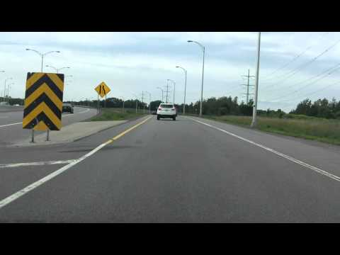 Lafontaine Expressway (Autoroute 25 Exit 17) northbound
