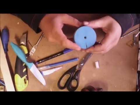 Как сделать шлифовальную насадку для дрели. How to make a grinding attachment for drills