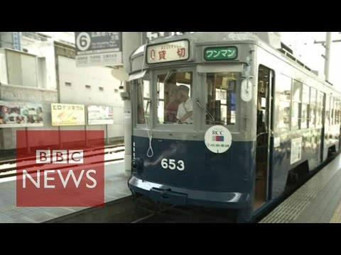 Hiroshima: The tram that survived the atomic bomb - BBC News