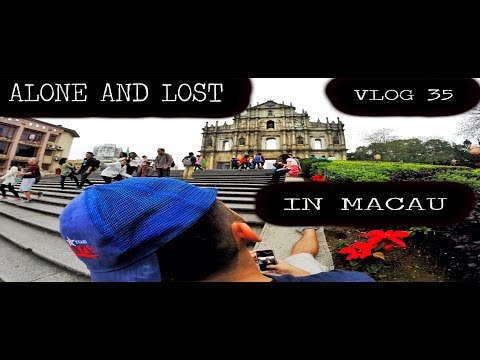 Alone, Lost and Hungry In Macau! (Southeast Asia Vlog Day 32 - 35)