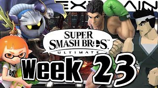 Smash Bros Ultimate Update: Banner Trailer, Meta Knight, Lil' Mac, Poké Stadium & Seaskape - Week 23