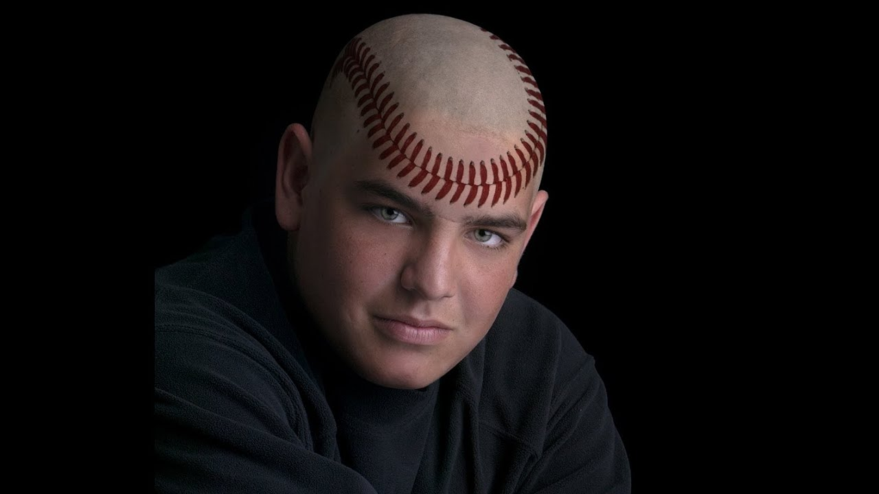 how to make bald head not shine