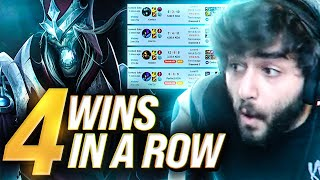 Yassuo | FOUR WINS IN A ROW?!? (Jungle Unranked to Challenger)
