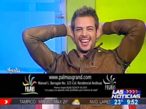 William Levy en Las Noticias Monterrey 24 02 2011    Gracias a Analiz480p H 264 AAC