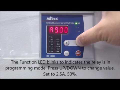 MK1000A setting tutorial