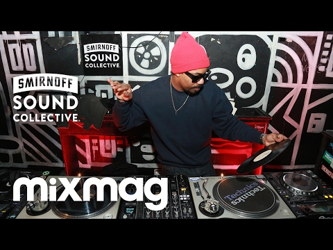 DĀM-FUNK funk & disco vinyl set in The Lab NYC