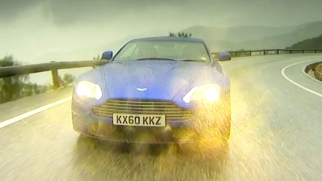 The Aston Martin V8 Vantage S Tbt Fifth Gear Youtube