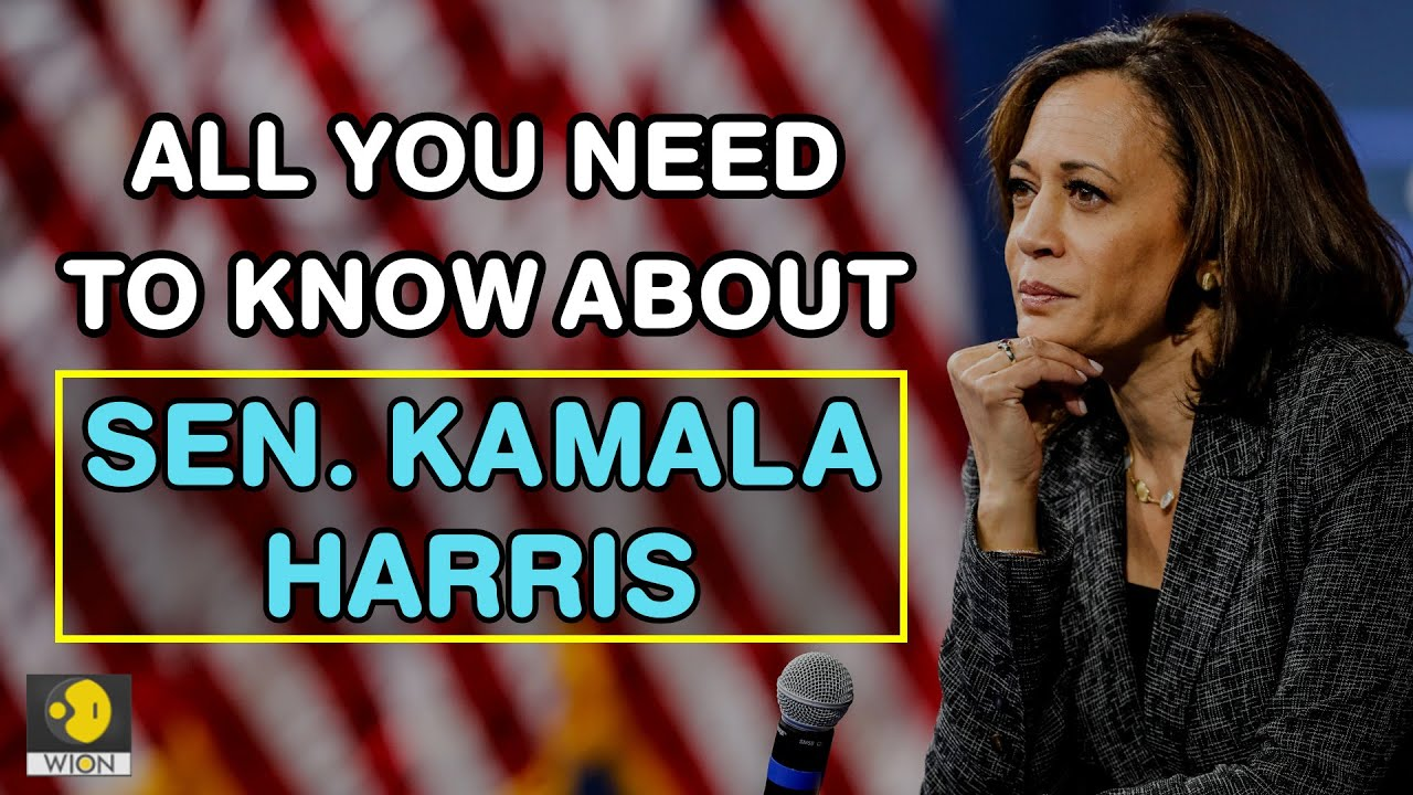 All You Need To Know About Kamala Harris Wion News Youtube